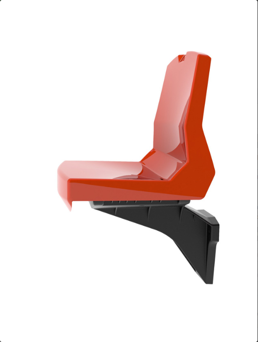 Sports ground seating – Injection moulded stadium seats1