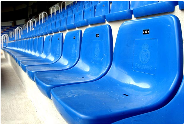 Sports ground seating – Injection moulded stadium seats2